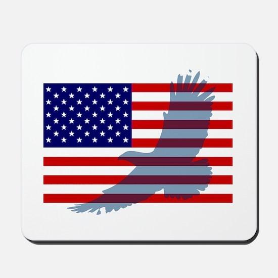 Flag  Eagle Patriot Mousepad