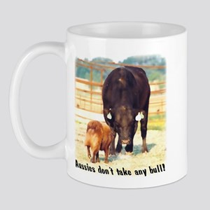 Aussies Don't Take Any Bull Mug