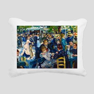 Lg Print Renoir Rectangular Canvas Pillow