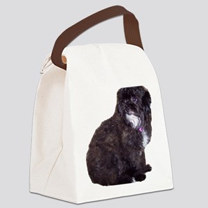 Shih Poo Love Canvas Lunch Bag