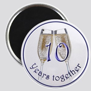 Celebrate 10 Years Together! Magnet