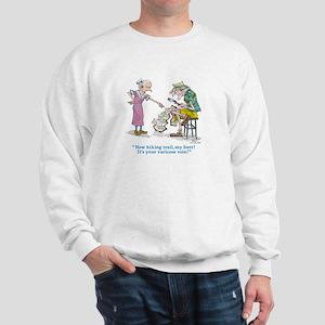Grandpa's Varicose Trail Sweatshirt