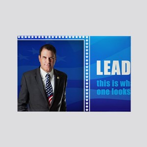 Leader: Alan Grayson Rectangle Magnet