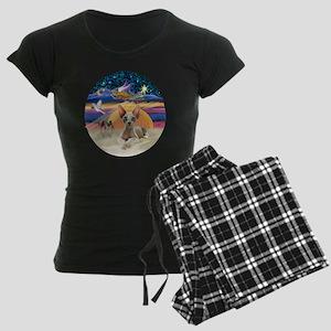 C-Angel - Sphync cat (ld) Women's Dark Pajamas