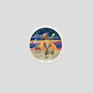 C-Angel - Sphync cat (ld) Mini Button