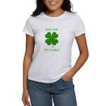 Kiss Me, I'm Lucky Women's T-Shirt