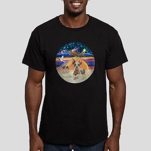 C-Angel - Sphync cat ( Men's Fitted T-Shirt (dark)