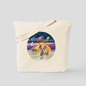 C-Angel - Sphync cat (ld) Tote Bag