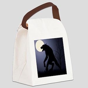 Werewolf Canvas Lunch Bag