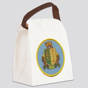 uss dale patch transparent Canvas Lunch Bag