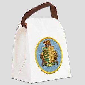 uss dale patch transparent Canvas Lunch Bag