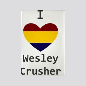 Crusher Love Rectangle Magnet