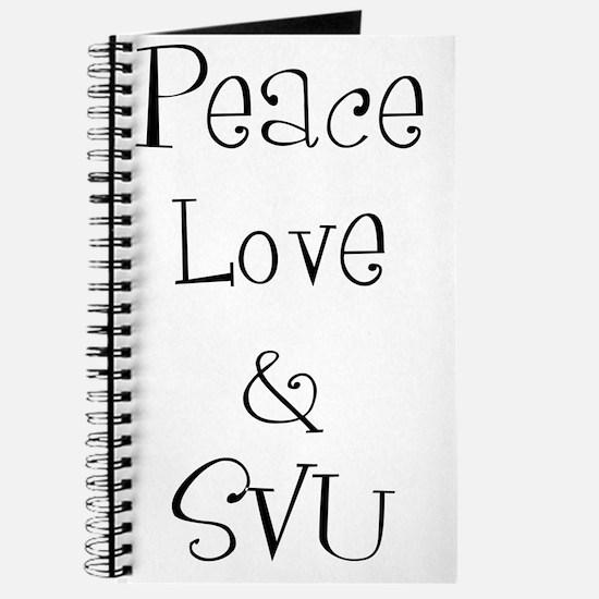 Peace Love Journal