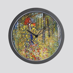 Gustav Klimt Crucifix Wall Clock
