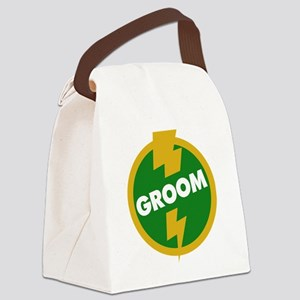 Groom Wedding - Dupree Canvas Lunch Bag