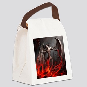 Demon Canvas Lunch Bag