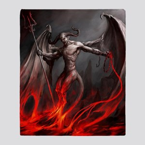 Demon Throw Blanket