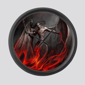 Demon Large Wall Clock