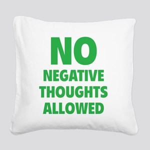 noNegat1E Square Canvas Pillow