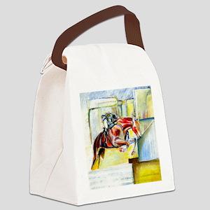 Equestrian - horse  art Canvas Lunch Bag