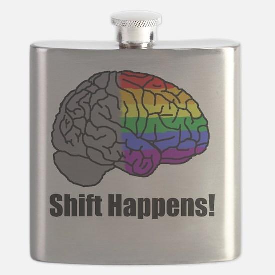 Shift Happens!  Blk - Brain Flask