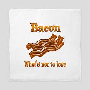 Bacon to Love Queen Duvet