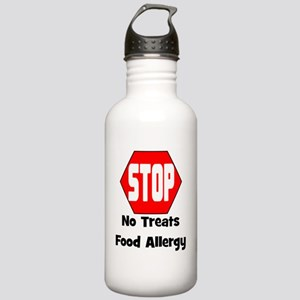 STOP No Treats, Food A Stainless Water Bottle 1.0L