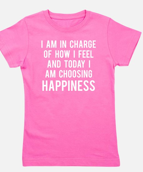 todayHappy1B Girl's Tee