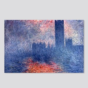claude Monet Parliament I Postcards (Package of 8)