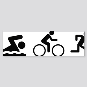 triathlon1A Sticker (Bumper)