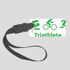 triathlon2F Small Luggage Tag