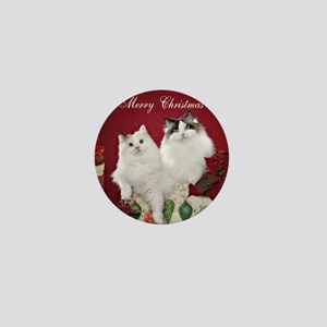 Ragdoll Cat Coaster Mini Button