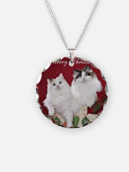 Ragdoll Cat Coaster Necklace
