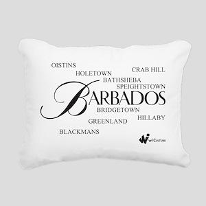 Barbados Cities Rectangular Canvas Pillow