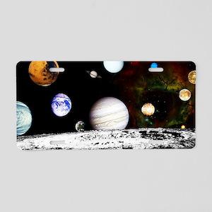 23x35_print h Aluminum License Plate