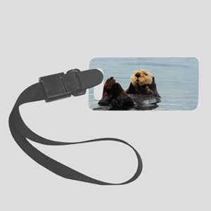 Coozie_Otter_10 Small Luggage Tag