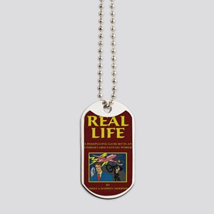 Real Life Book Cover Dog Tags