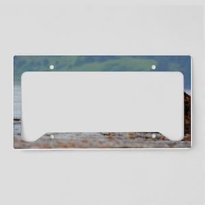 Coozie_Otter_11 License Plate Holder