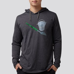 Shovel White Bucket Long Sleeve T-Shirt