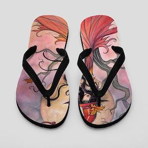Autumn Magic Flip Flops
