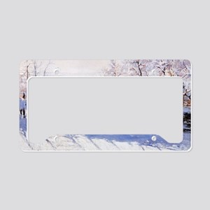 The Magpie License Plate Holder