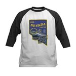 USS NEVADA Kids Baseball Jersey