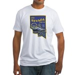 USS NEVADA Fitted T-Shirt
