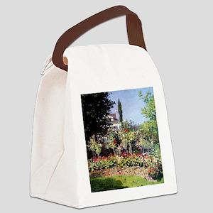 Flowering Garden at Sainte-Adress Canvas Lunch Bag