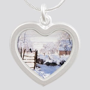 The Magpie Silver Heart Necklace