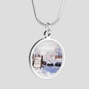 The Magpie Silver Round Necklace
