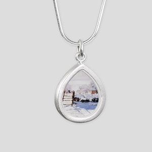 The Magpie Silver Teardrop Necklace