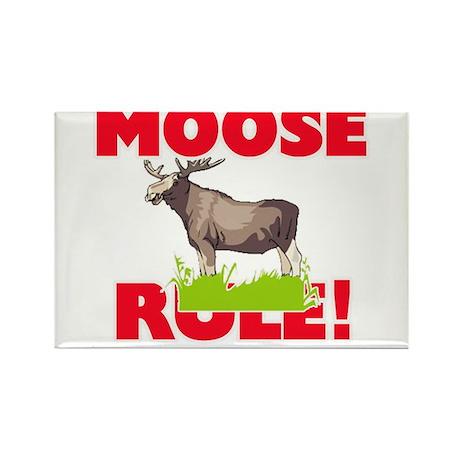 Moose Rule! Magnets