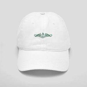 uss john adams white letters Cap