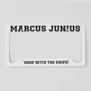 MARCUS JUNIUSS BRUTUS, CAESAR License Plate Holder
